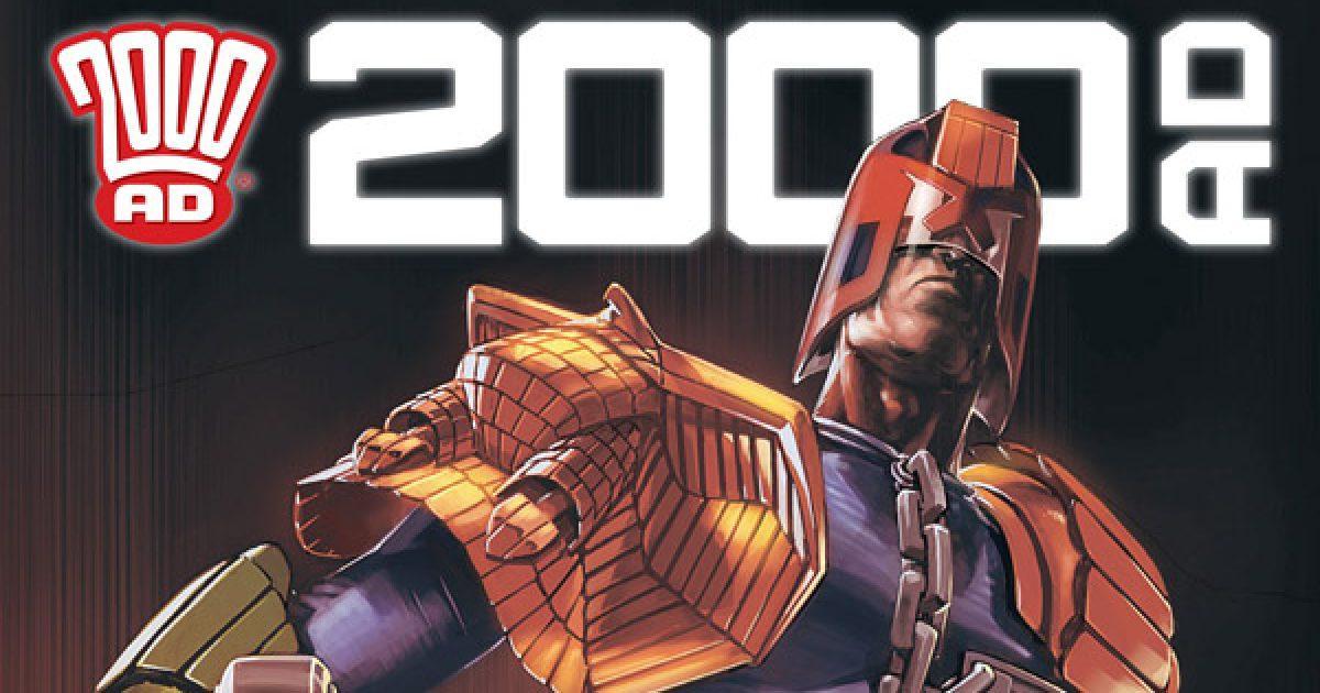 Обложка журнала 2000 ad #2181