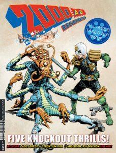 Обложка журнала 2000 ad #2183