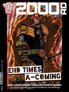 Обложка журнала 2000 ad #2184
