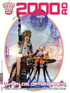 Обложка журнала 2000 ad #2187