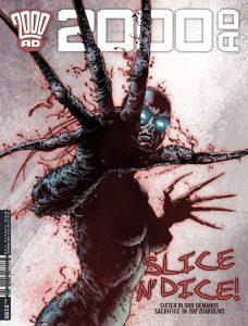 Обложка журнала 2000 ad #290