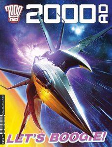 Обложка журнала 2000 ad #291