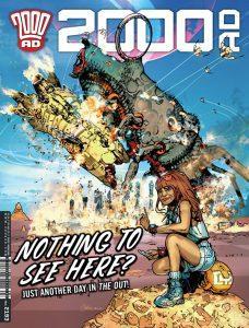 Обложка журнала 2000 ad #2193