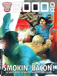Обложка журнала 2000 ad #2194