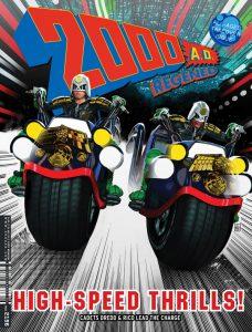 Обложка журнала 2000 ad #2196