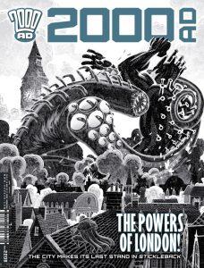 Обложка журнала 2000 ad #2208
