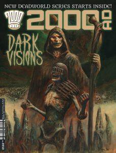 Обложка журнала 2000 ad #2210