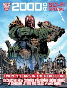 Обложка журнала 2000 ad sci fi cpecial 2020