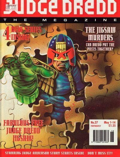 Обложка журнала judge dredd megazine #047 (2.27)