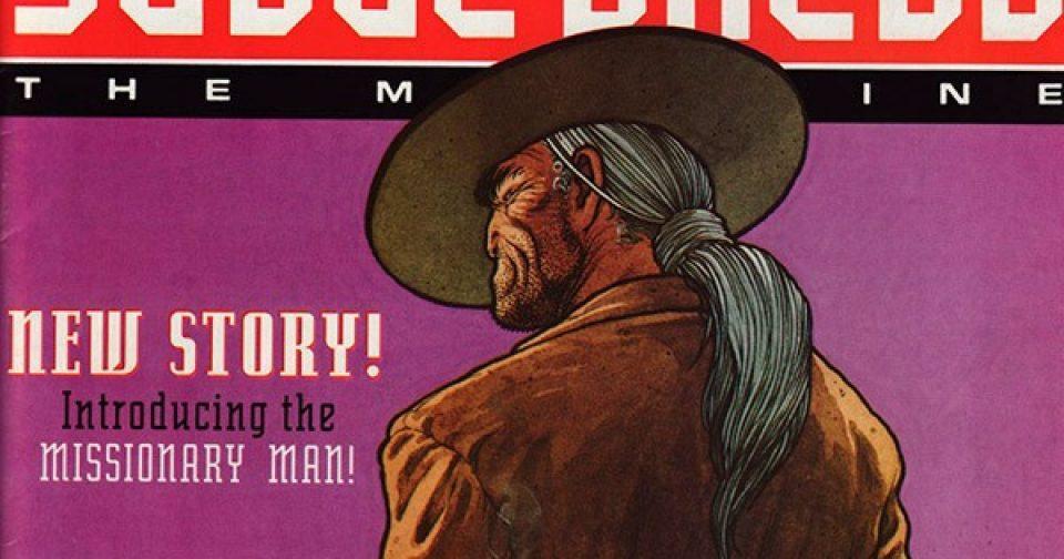 Обложка журнала judge dredd megazine #049 (2.29)
