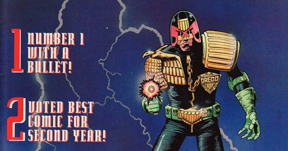 Обложка журнала judge dredd megazine #051 (2.31)
