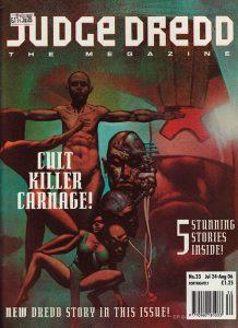 Обложка журнала judge dredd megazine #053 (2.33)