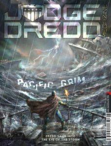 Обложка журнала judge dredd megazine #368