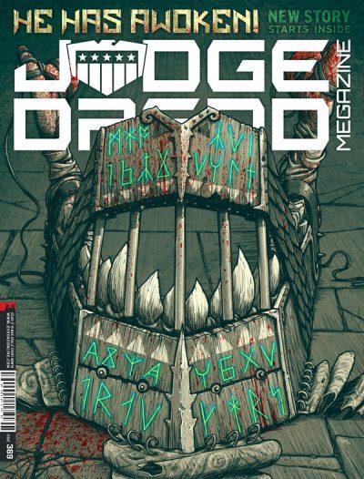 Обложка журнала judge dredd megazine #369