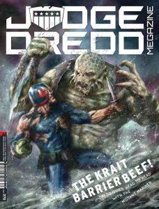 Обложка журнала judge dredd megazine #370