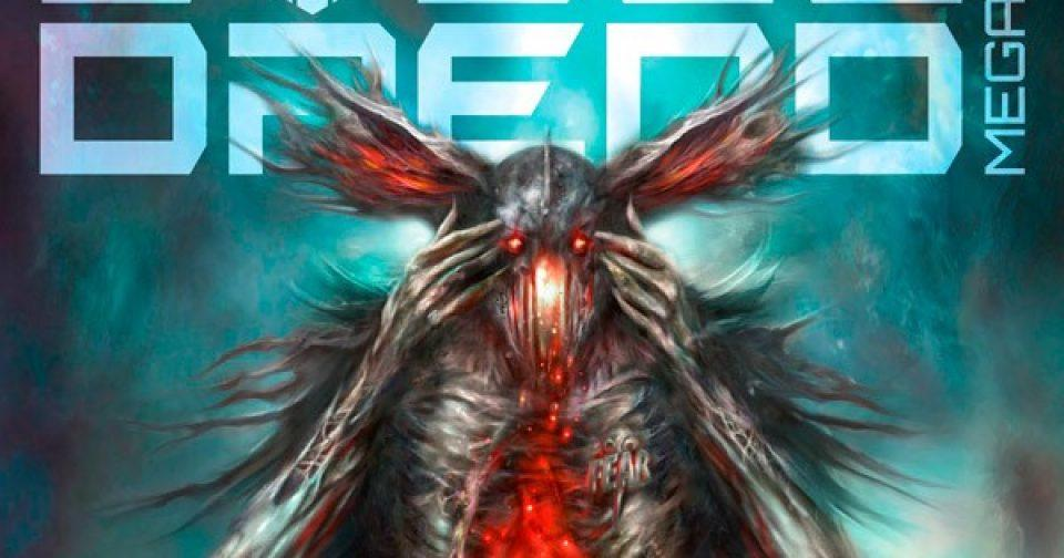 Обложка журнала judge dredd megazine #405