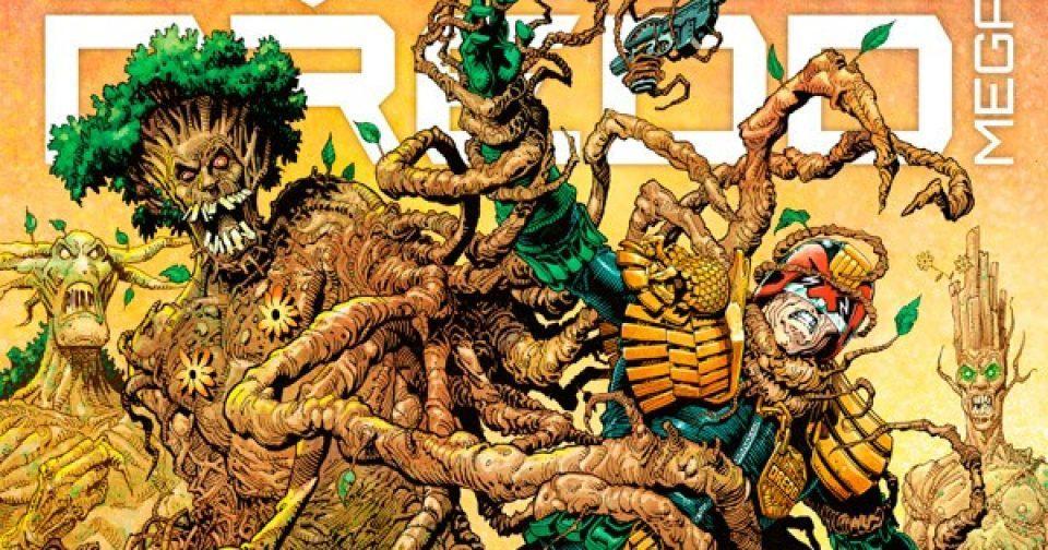 Обложка журнала judge dredd megazine #406