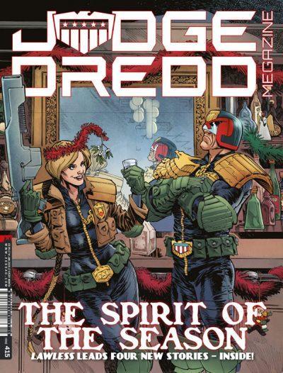 Обложка журнала judge dredd megazine #415