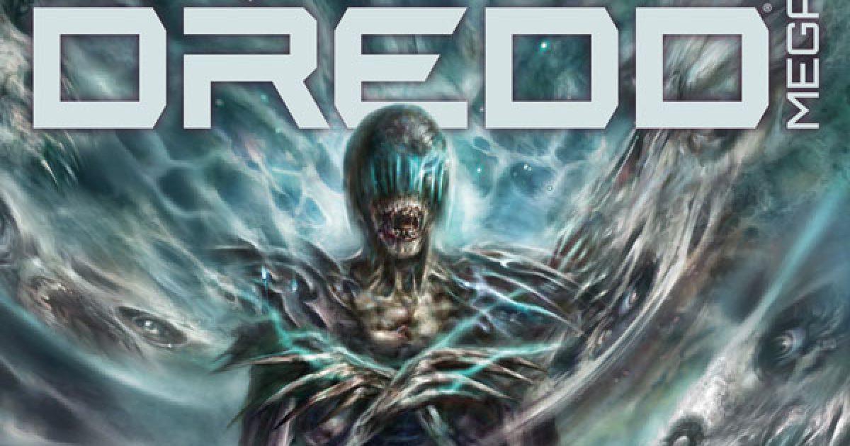 Обложка журнала judge dredd megazine #425, судя Смерть