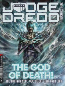 Обложка журнала judge dredd megazine #423, судя Смерть