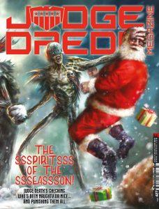 Обложка журнала judge dredd megazine #427, Тёмные судьи, судья Смерть