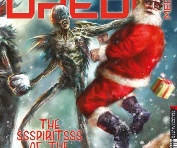 Обложка журнала judge dredd megazine #427, судя Смерть