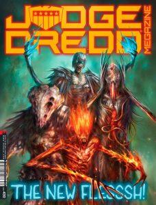 Обложка журнала judge dredd megazine #430, Тёмные Судьи