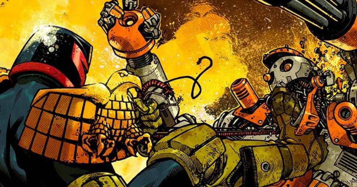 Обложка комикса судья дредд 003 (IDW)