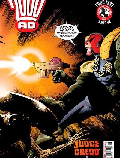 Обложка журнала 2000 ad #1330