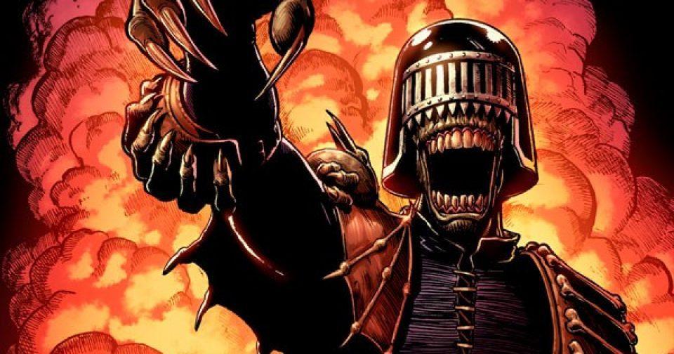 Обложка комикса Судья Дредд. Классика — Тёмные судьи 01