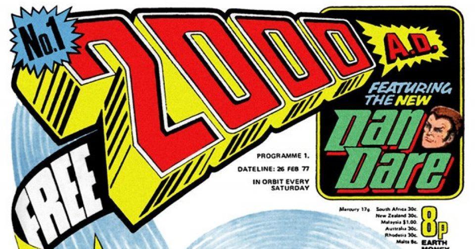 Обложка журнала 2000 ad #0001