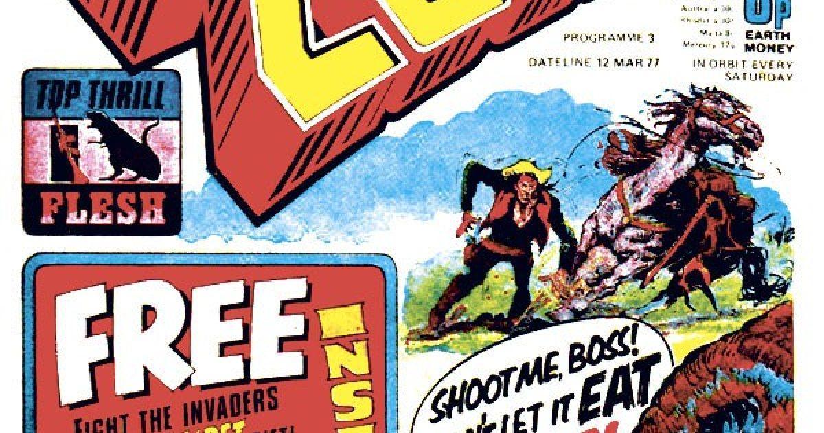 Обложка журнала 2000 ad #0003
