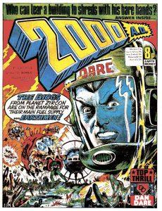 Обложка журнала 2000 ad #0007