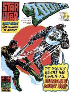Обложка журнала 2000 ad #0010
