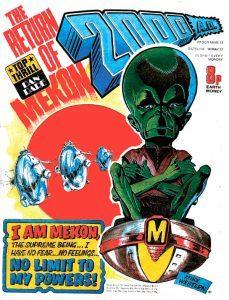 Обложка журнала 2000 ad #0012