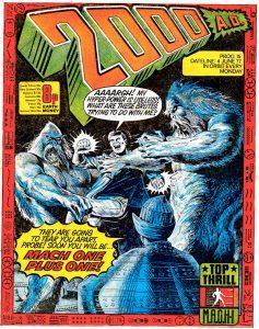 Обложка журнала 2000 ad #0015