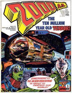 Обложка журнала 2000 ad #0021