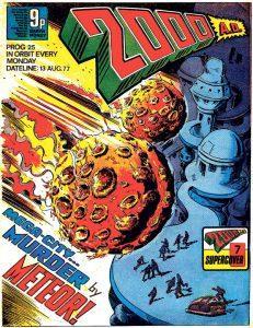 Обложка журнала 2000 ad #0025