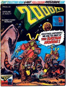 Обложка журнала 2000 ad #0026