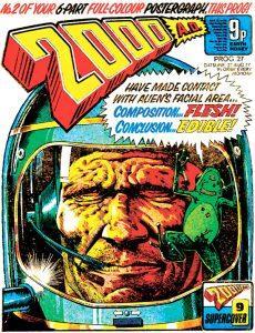 Обложка журнала 2000 ad #0027