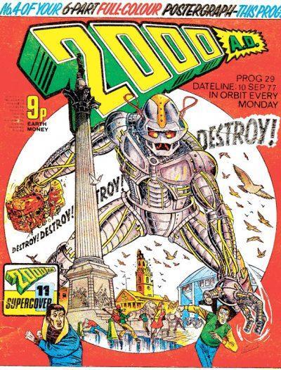 Обложка журнала 2000 ad #0029