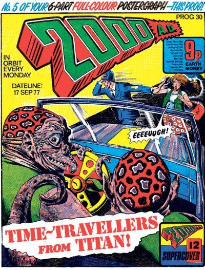 Обложка журнала 2000 ad #0030