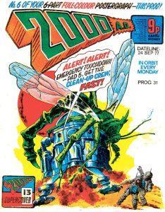 Обложка журнала 2000 ad #0031
