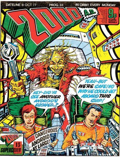 Обложка журнала 2000 ad #0033