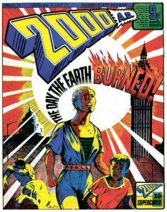 Обложка журнала 2000 ad #0034