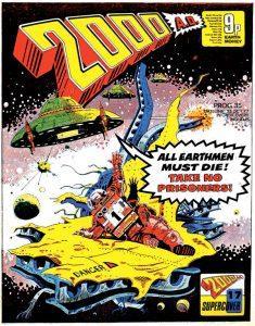 Обложка журнала 2000 ad #0035