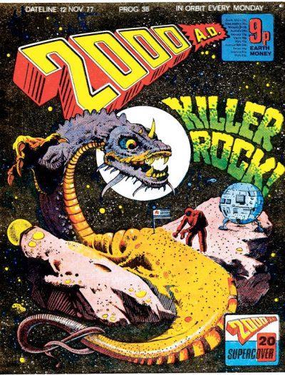 Обложка журнала 2000 ad #0038