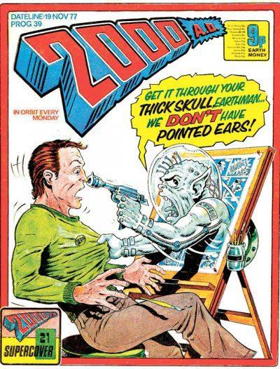 Обложка журнала 2000 ad #0039
