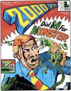 Обложка журнала 2000 ad #0043