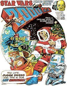 Обложка журнала 2000 ad #0044